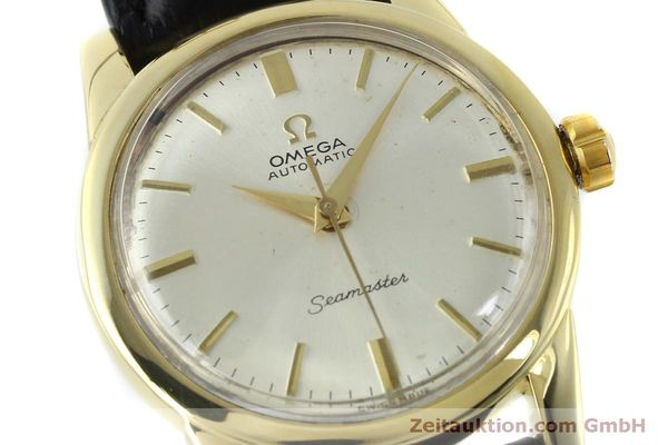Used luxury watch Omega Seamaster 18 ct gold automatic Kal. 354  | 151794 02