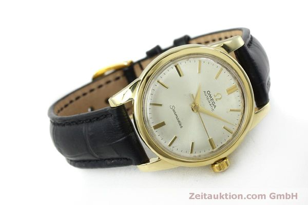 Used luxury watch Omega Seamaster 18 ct gold automatic Kal. 354  | 151794 03