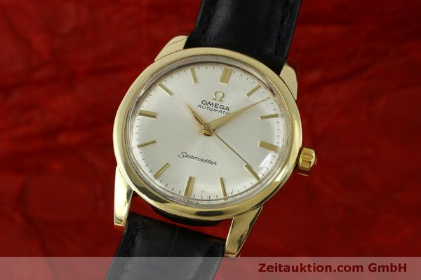 Used luxury watch Omega Seamaster 18 ct gold automatic Kal. 354  | 151794 04