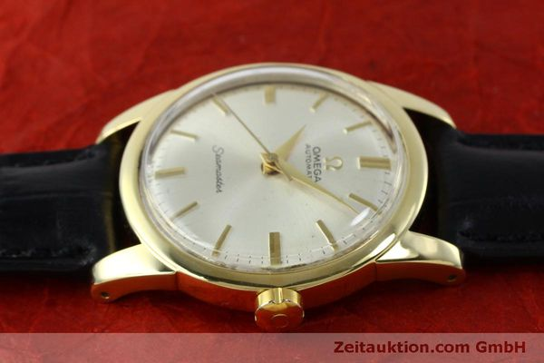 Used luxury watch Omega Seamaster 18 ct gold automatic Kal. 354  | 151794 05