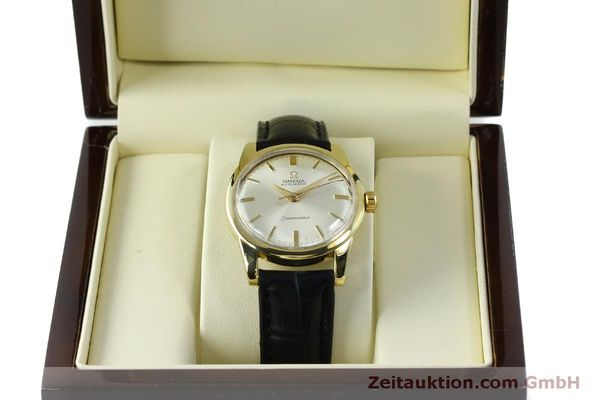 Used luxury watch Omega Seamaster 18 ct gold automatic Kal. 354  | 151794 07