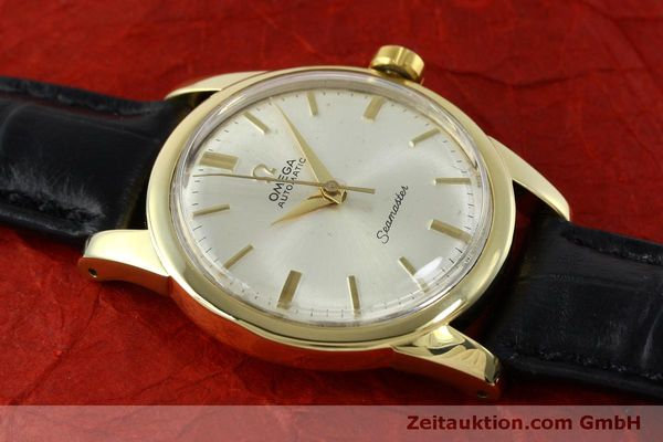 Used luxury watch Omega Seamaster 18 ct gold automatic Kal. 354  | 151794 13