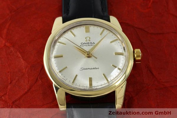 Used luxury watch Omega Seamaster 18 ct gold automatic Kal. 354  | 151794 14