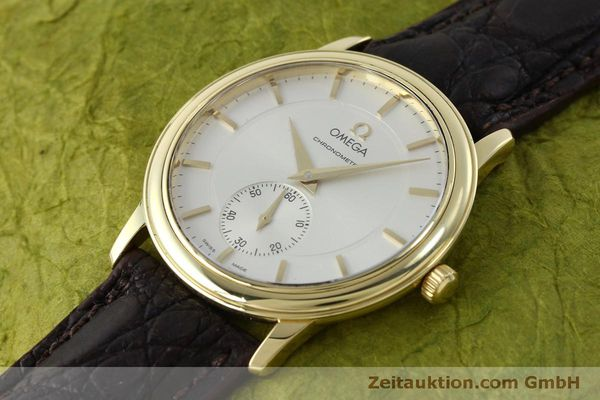 Used luxury watch Omega De Ville 18 ct gold manual winding Kal. 652  | 151795 01