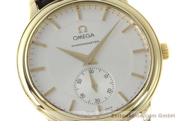 Used luxury watch Omega De Ville 18 ct gold manual winding Kal. 652  | 151795 02