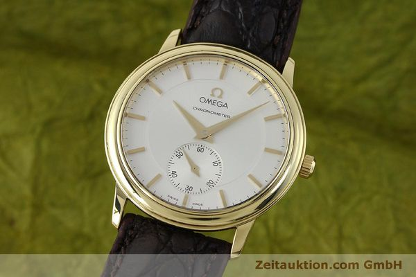 Used luxury watch Omega De Ville 18 ct gold manual winding Kal. 652  | 151795 04