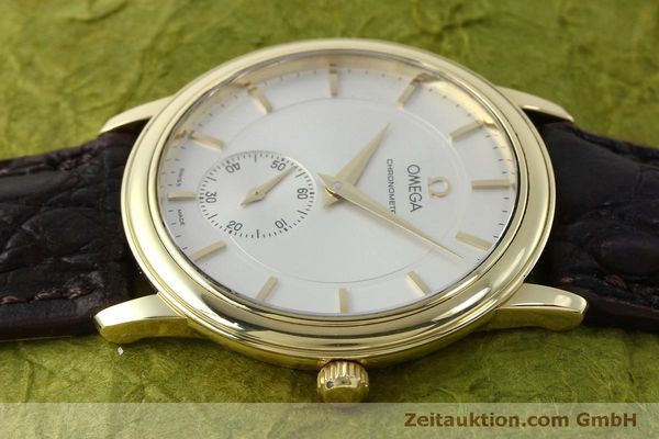 Used luxury watch Omega De Ville 18 ct gold manual winding Kal. 652  | 151795 05