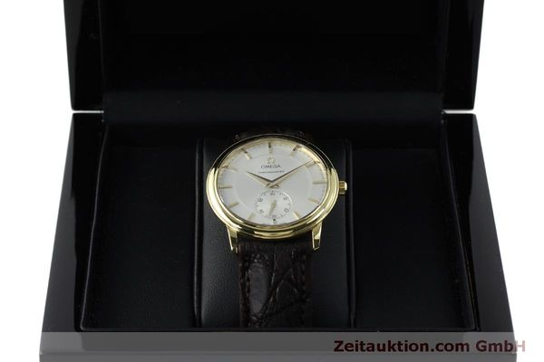 Used luxury watch Omega De Ville 18 ct gold manual winding Kal. 652  | 151795 07