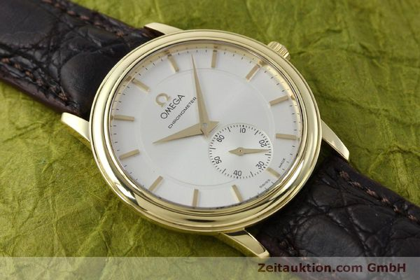 Used luxury watch Omega De Ville 18 ct gold manual winding Kal. 652  | 151795 14
