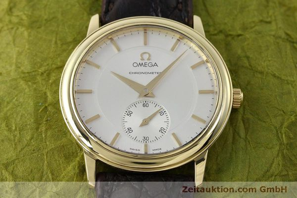 Used luxury watch Omega De Ville 18 ct gold manual winding Kal. 652  | 151795 15
