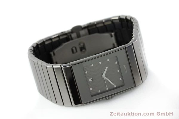 Used luxury watch Rado Diastar ceramic / steel quartz Kal. ETA 956112 Ref. 111.0479.3  | 151800 03