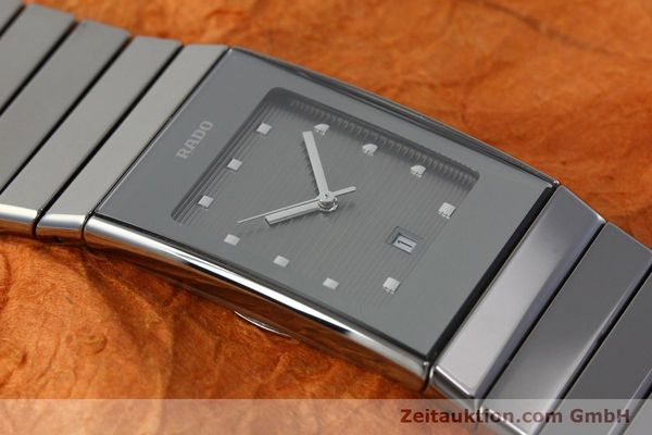 Used luxury watch Rado Diastar ceramic / steel quartz Kal. ETA 956112 Ref. 111.0479.3  | 151800 12