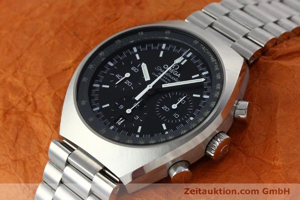 Used luxury watch Omega Speedmaster chronograph steel automatic Kal. 3330 Ref. 32710435001001  | 151805 01