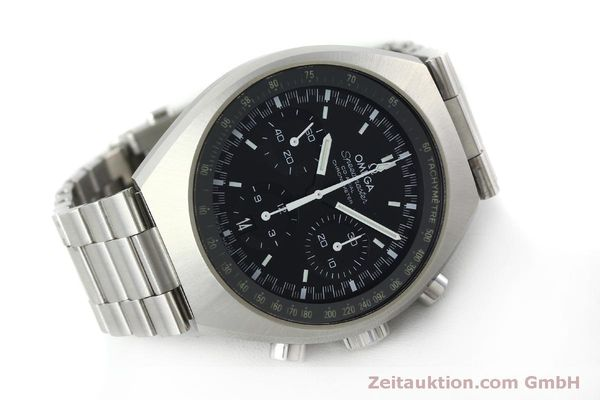 Used luxury watch Omega Speedmaster chronograph steel automatic Kal. 3330 Ref. 32710435001001  | 151805 03