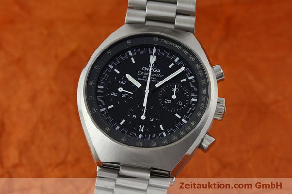 Used luxury watch Omega Speedmaster chronograph steel automatic Kal. 3330 Ref. 32710435001001  | 151805 04