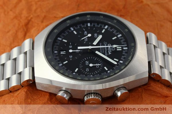 Used luxury watch Omega Speedmaster chronograph steel automatic Kal. 3330 Ref. 32710435001001  | 151805 05