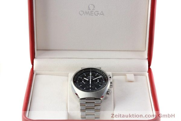 Used luxury watch Omega Speedmaster chronograph steel automatic Kal. 3330 Ref. 32710435001001  | 151805 07