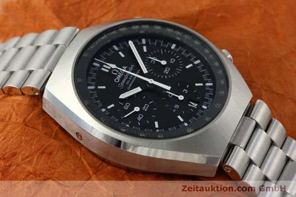 Used luxury watch Omega Speedmaster chronograph steel automatic Kal. 3330 Ref. 32710435001001  | 151805 16