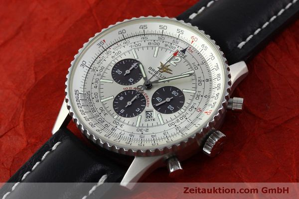 Used luxury watch Breitling Navitimer chronograph steel automatic Kal. B41 ETA 2892A2 Ref. A41322  | 151806 01