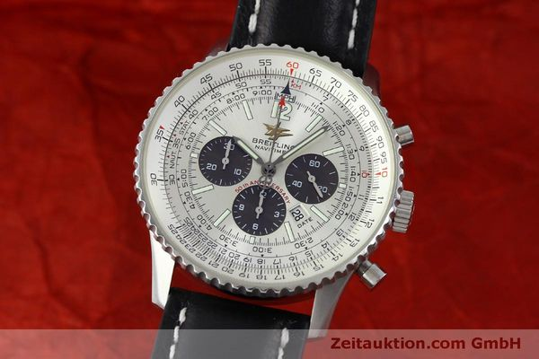 Used luxury watch Breitling Navitimer chronograph steel automatic Kal. B41 ETA 2892A2 Ref. A41322  | 151806 04