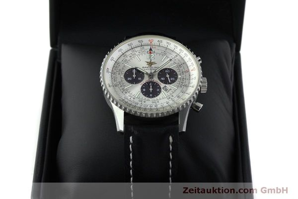 Used luxury watch Breitling Navitimer chronograph steel automatic Kal. B41 ETA 2892A2 Ref. A41322  | 151806 07