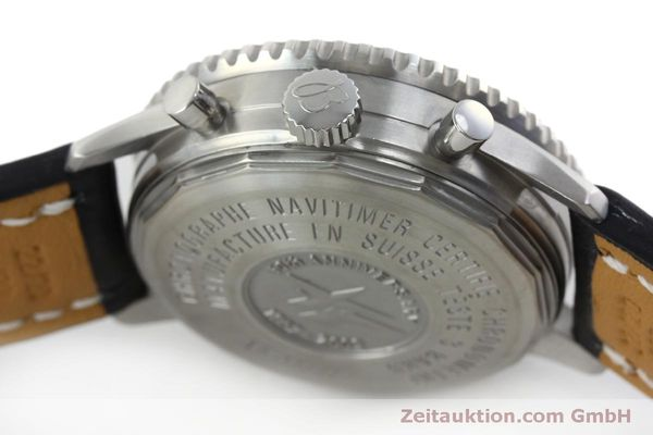 Used luxury watch Breitling Navitimer chronograph steel automatic Kal. B41 ETA 2892A2 Ref. A41322  | 151806 08