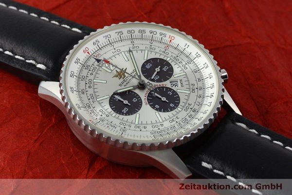 Used luxury watch Breitling Navitimer chronograph steel automatic Kal. B41 ETA 2892A2 Ref. A41322  | 151806 13