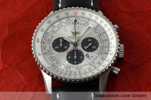 Used luxury watch Breitling Navitimer chronograph steel automatic Kal. B41 ETA 2892A2 Ref. A41322  | 151806 14