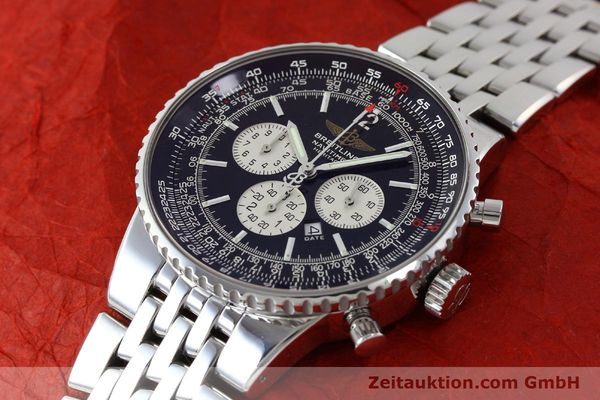 Used luxury watch Breitling Navitimer chronograph steel automatic Kal. B35 ETA 2892A2 Ref. A35350  | 151812 01