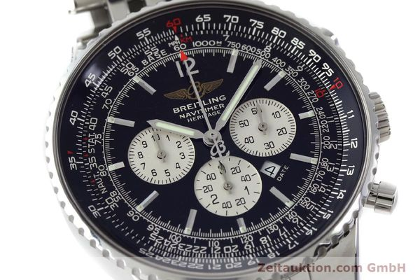 Used luxury watch Breitling Navitimer chronograph steel automatic Kal. B35 ETA 2892A2 Ref. A35350  | 151812 02