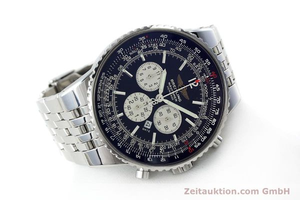 Used luxury watch Breitling Navitimer chronograph steel automatic Kal. B35 ETA 2892A2 Ref. A35350  | 151812 03