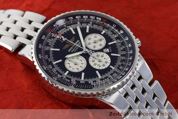 Used luxury watch Breitling Navitimer chronograph steel automatic Kal. B35 ETA 2892A2 Ref. A35350  | 151812 14