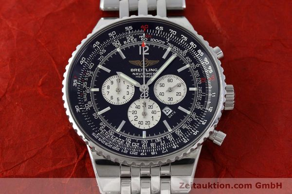 Used luxury watch Breitling Navitimer chronograph steel automatic Kal. B35 ETA 2892A2 Ref. A35350  | 151812 15