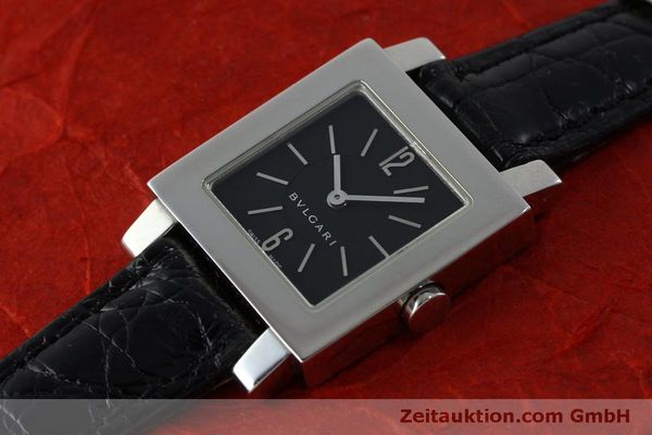 Used luxury watch Bvlgari Quadrato steel quartz Ref. SQ22SL  | 151813 01