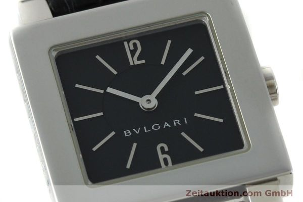 Used luxury watch Bvlgari Quadrato steel quartz Ref. SQ22SL  | 151813 02