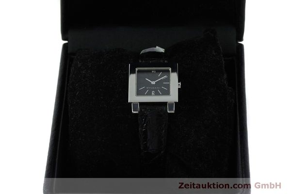 Used luxury watch Bvlgari Quadrato steel quartz Ref. SQ22SL  | 151813 07