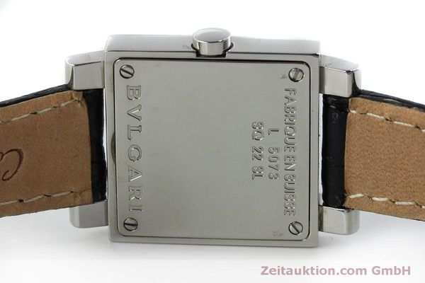 Used luxury watch Bvlgari Quadrato steel quartz Ref. SQ22SL  | 151813 09