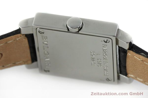 Used luxury watch Bvlgari Quadrato steel quartz Ref. SQ22SL  | 151813 10