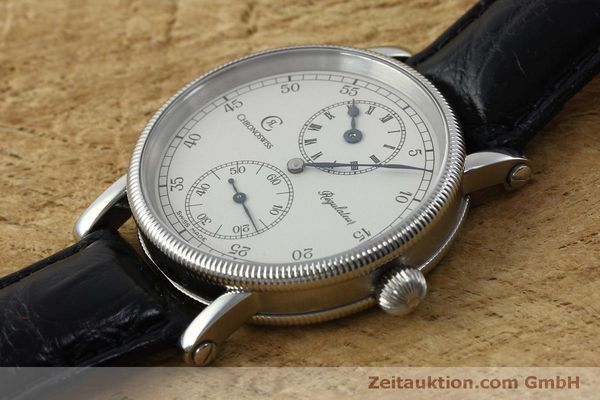 Used luxury watch Chronoswiss Regulateur steel manual winding Kal. Unitas 63767 Ref. CH6323  | 151815 01
