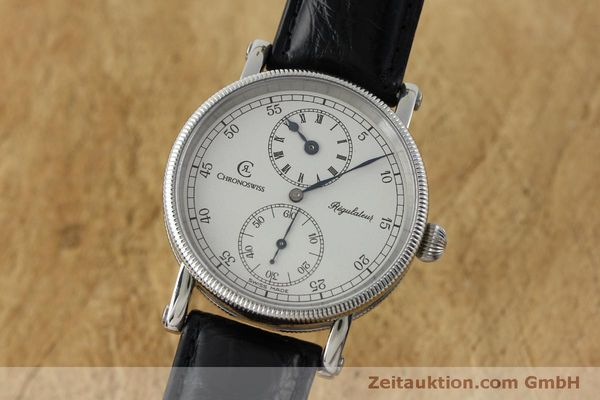 Used luxury watch Chronoswiss Regulateur steel manual winding Kal. Unitas 63767 Ref. CH6323  | 151815 04