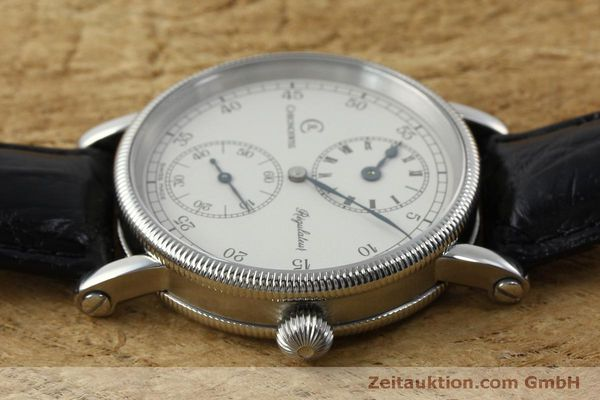 Used luxury watch Chronoswiss Regulateur steel manual winding Kal. Unitas 63767 Ref. CH6323  | 151815 05