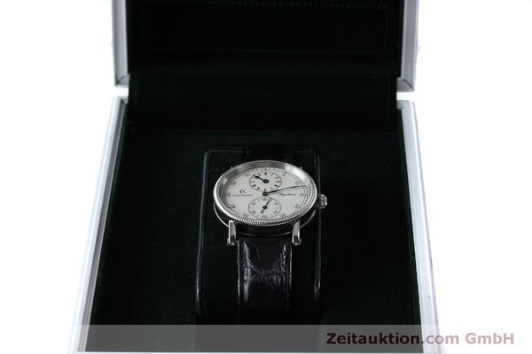 Used luxury watch Chronoswiss Regulateur steel manual winding Kal. Unitas 63767 Ref. CH6323  | 151815 07