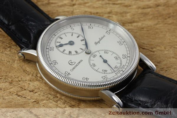 Used luxury watch Chronoswiss Regulateur steel manual winding Kal. Unitas 63767 Ref. CH6323  | 151815 16