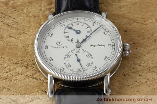 Used luxury watch Chronoswiss Regulateur steel manual winding Kal. Unitas 63767 Ref. CH6323  | 151815 17