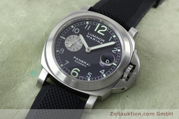 Used luxury watch Panerai Luminor Marina steel automatic Kal. 7750-P1 ETA A05511 Ref. OP6553  | 151818 01