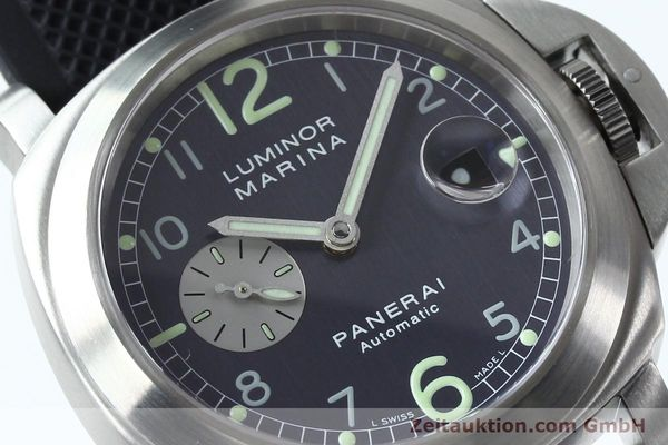 Used luxury watch Panerai Luminor Marina steel automatic Kal. 7750-P1 ETA A05511 Ref. OP6553  | 151818 02