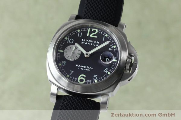 Used luxury watch Panerai Luminor Marina steel automatic Kal. 7750-P1 ETA A05511 Ref. OP6553  | 151818 04