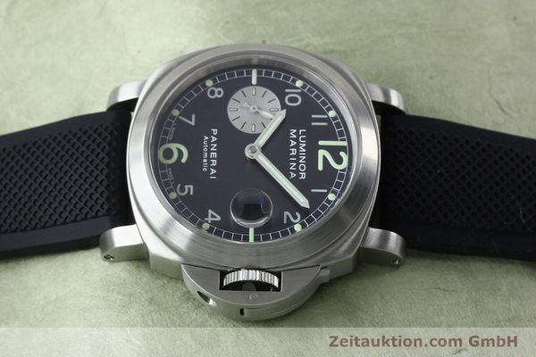 Used luxury watch Panerai Luminor Marina steel automatic Kal. 7750-P1 ETA A05511 Ref. OP6553  | 151818 05