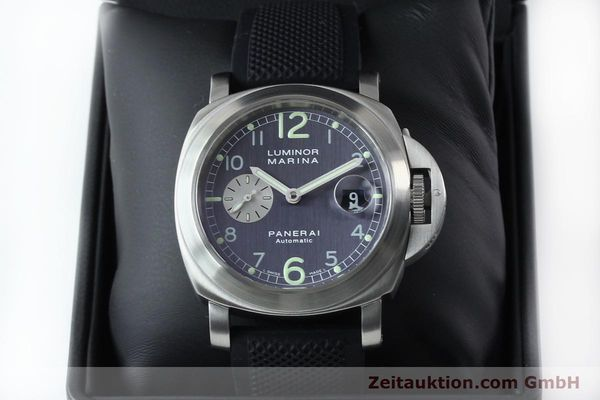 Used luxury watch Panerai Luminor Marina steel automatic Kal. 7750-P1 ETA A05511 Ref. OP6553  | 151818 07