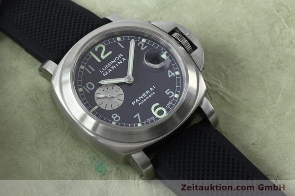 Used luxury watch Panerai Luminor Marina steel automatic Kal. 7750-P1 ETA A05511 Ref. OP6553  | 151818 14